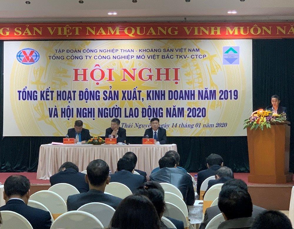 Mỏ Việt Bắc triển khai nhiệm vụ năm 2020