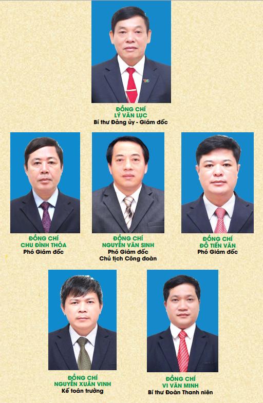 Ban lãnh đạo điều hành